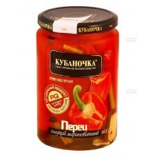 """Перец сладкий маринованный """"Кубаночка"""" 660 гр"""