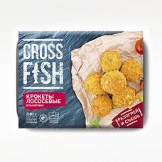 Крокеты лососевые в панировке по 0,240 кг
