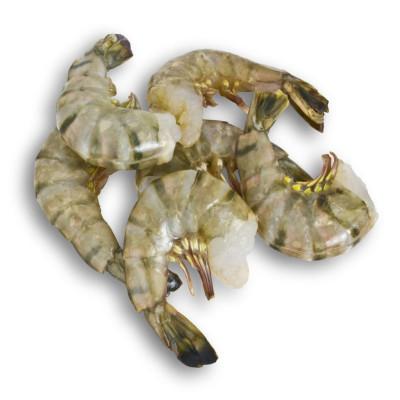 Креветка тигровая черная б/г  16/20 , вес 1 кг