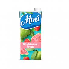 Сок МОЙ, клубника-гуава, 0,95л