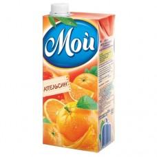 Сок МОЙ, апельсин, 0,95л